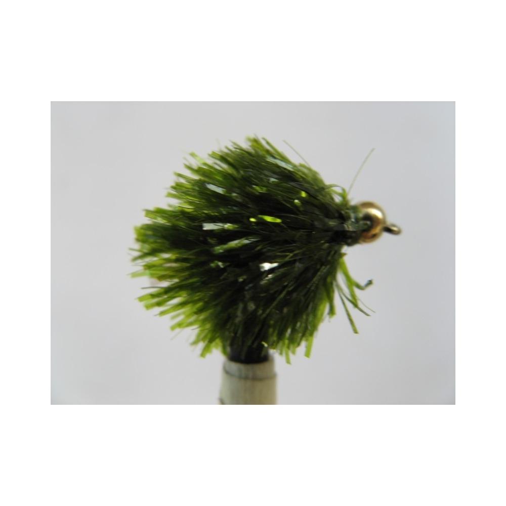 Goldhead Blob Flashtail Olive Size 10
