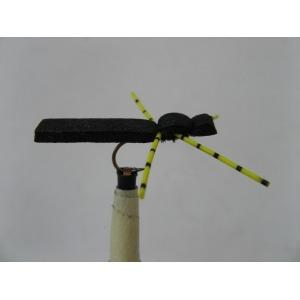 Foam Beetle Black/Yellow Size 10