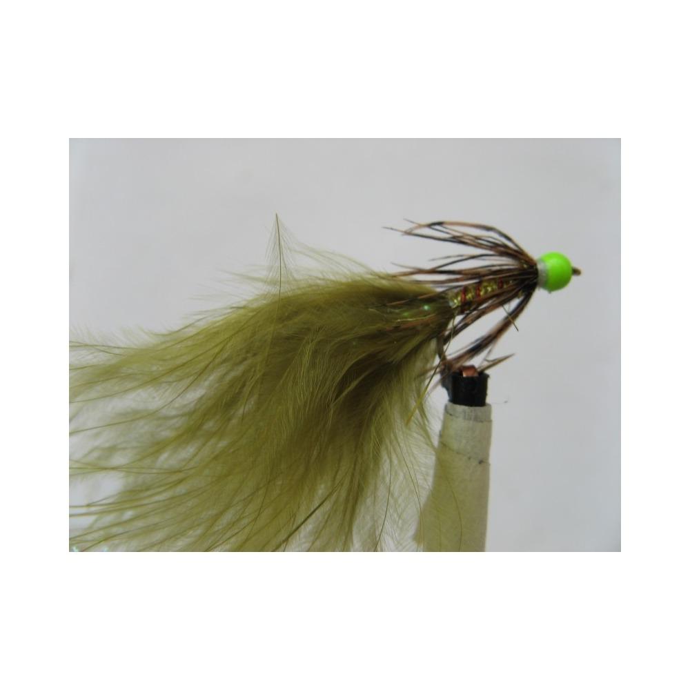 Hothead Tadpole Green Sparkle Size 10