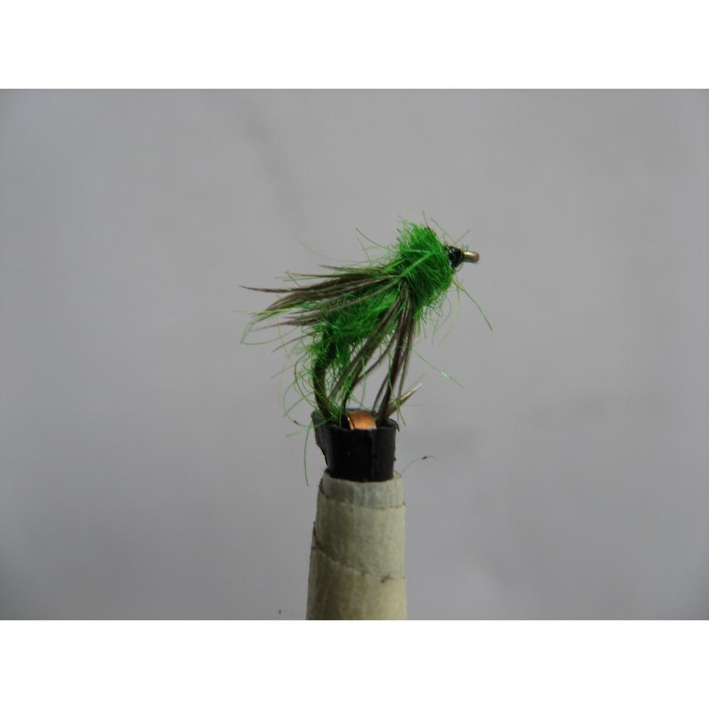 Nymph Green Sedge Pupae Size 14
