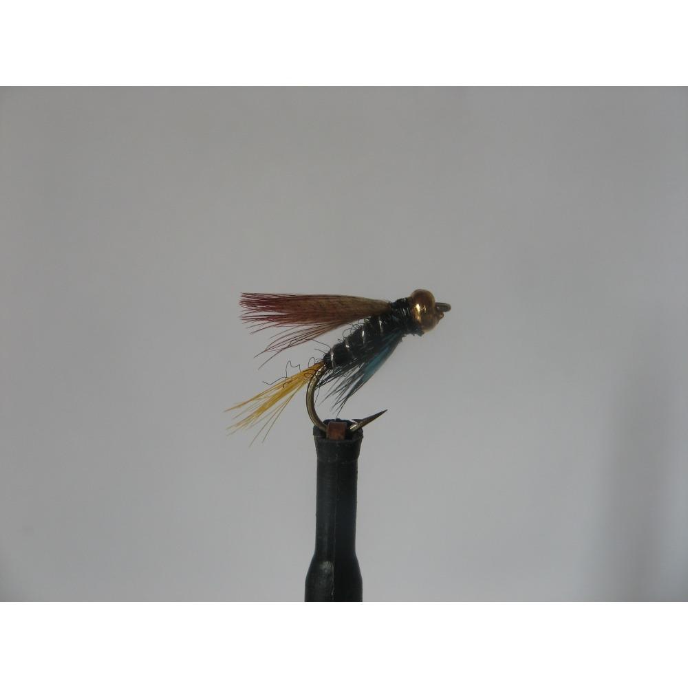 Goldhead Connemara Black Size 12