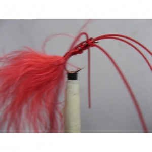 B/W Critter Worm Red Size 10