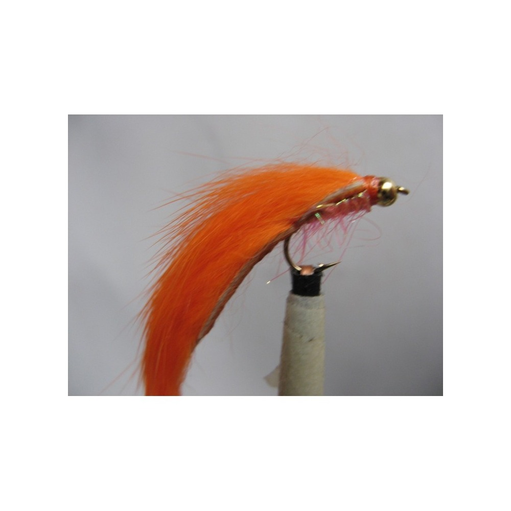 Goldhead Minkie Orange Size 10