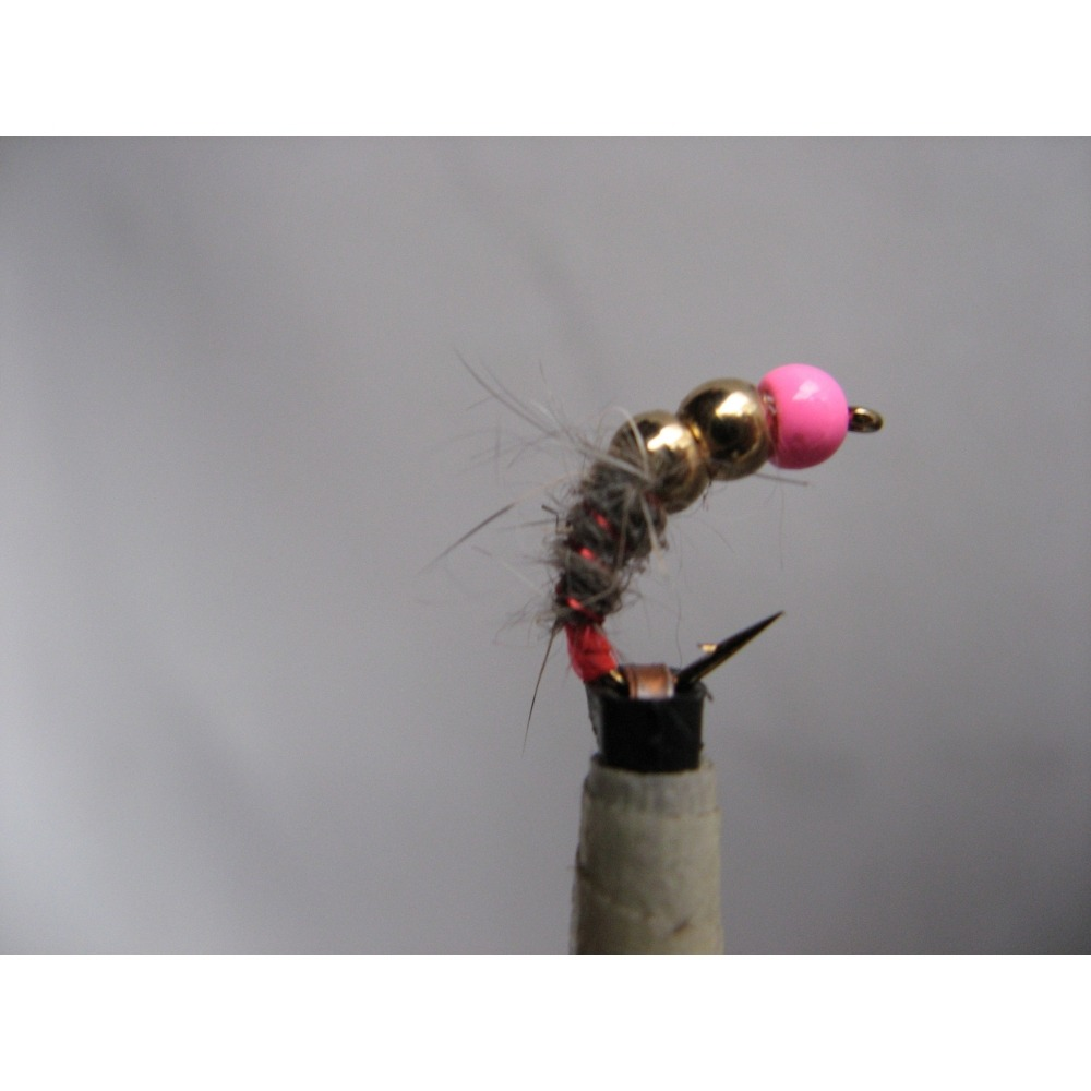 Hares Ear Depth Charge Pink Size 12