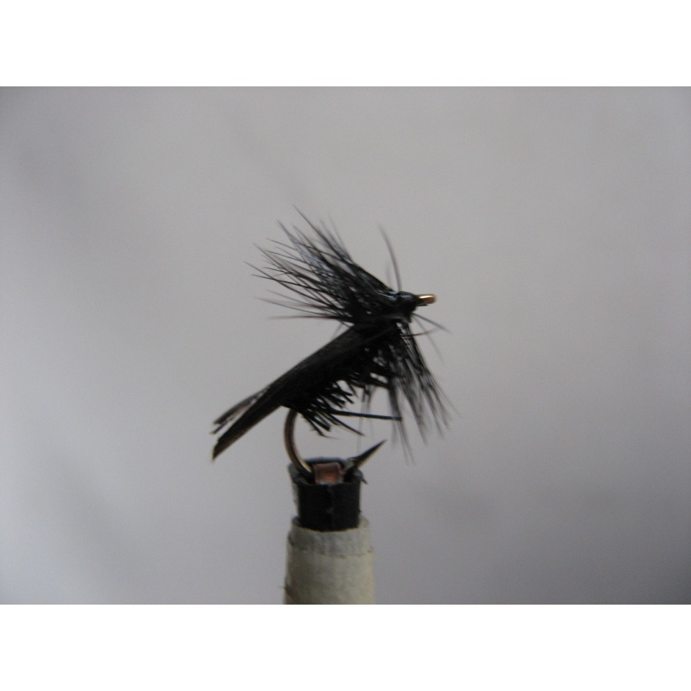 Sedge Tape Wing Caddis Black Size 12