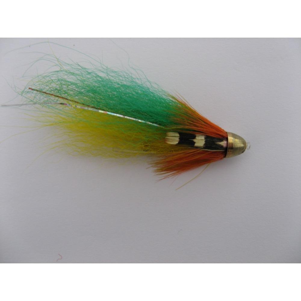 Tube Conehead Green Highlander