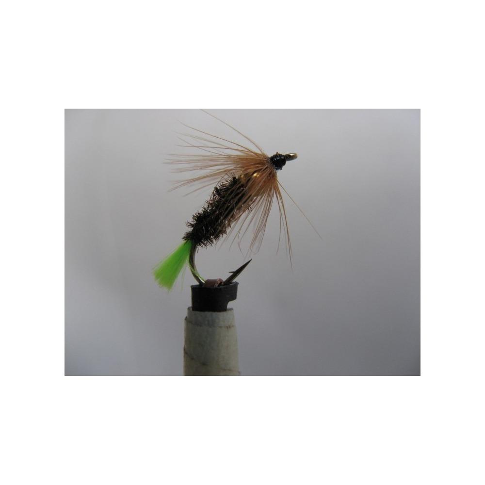 Goldhead Stickfly Green Tag Size 12