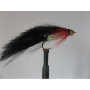 Zonker Goldhead Mylar Black Size 10 L/S