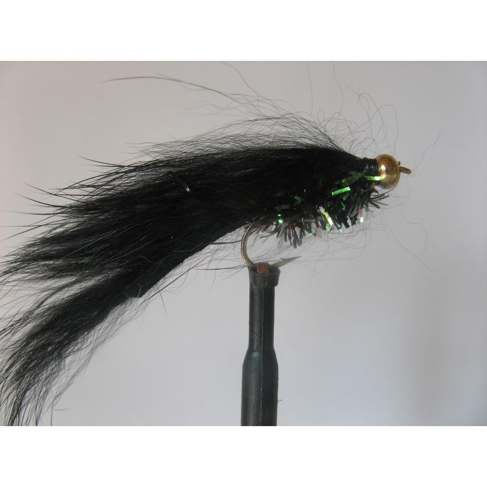 Zonker Goldhead Fritz Black Size 10 L/S