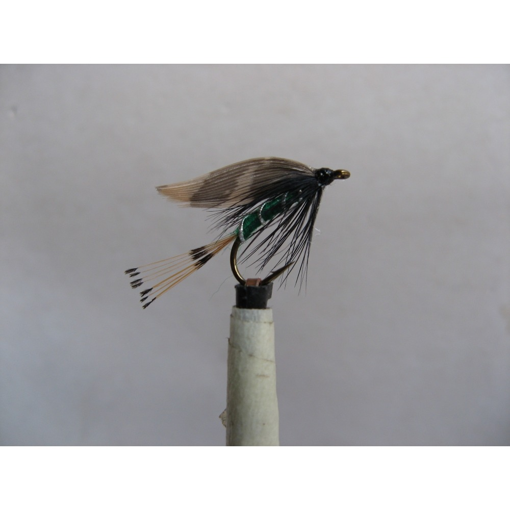 Wet Woodcock and Green Size 10