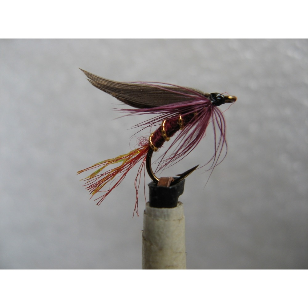 Twinkle Wet Grouse & Claret Size 12