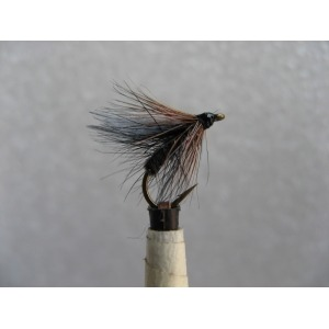 Dry Black Palmer Size 14