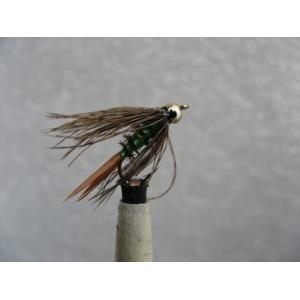 Para Dry Black Gnat Size 14