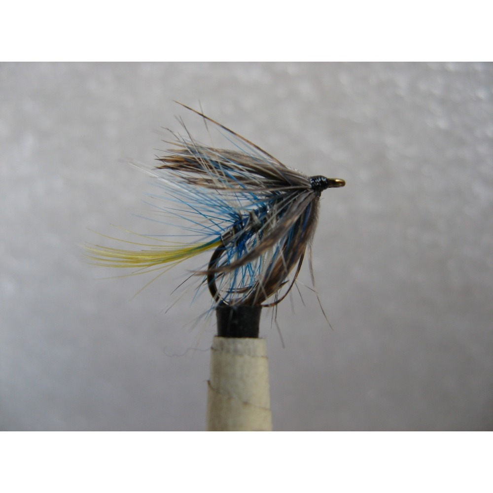 Bumble Blue and Silver size 12