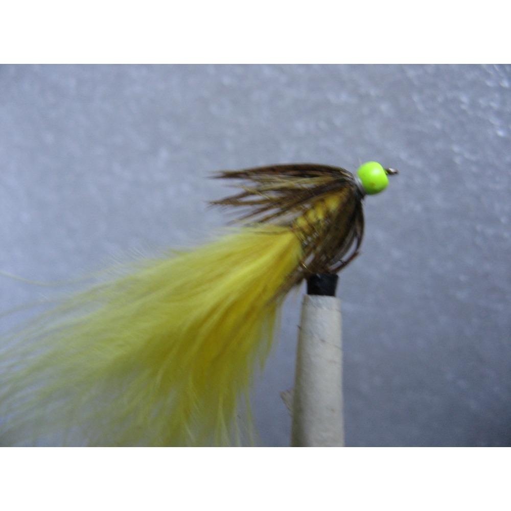 Damsel Hot Head Yellow Light Olive Size 10