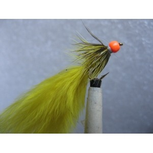 Damsel Hot Head Orange Light Olive Size 10