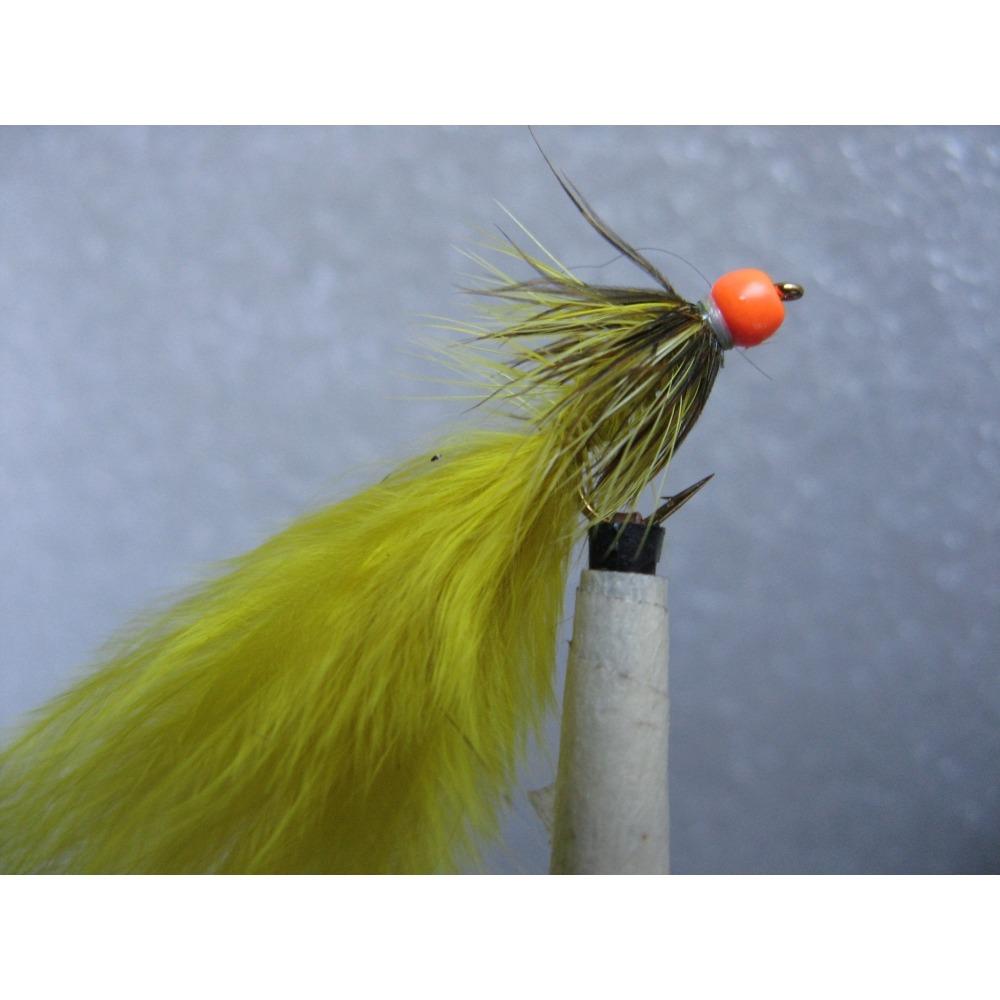 Damsel Hot Head Orange Light Olive Size 10