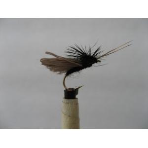 Dry Black Gnat Sparkle Size 14
