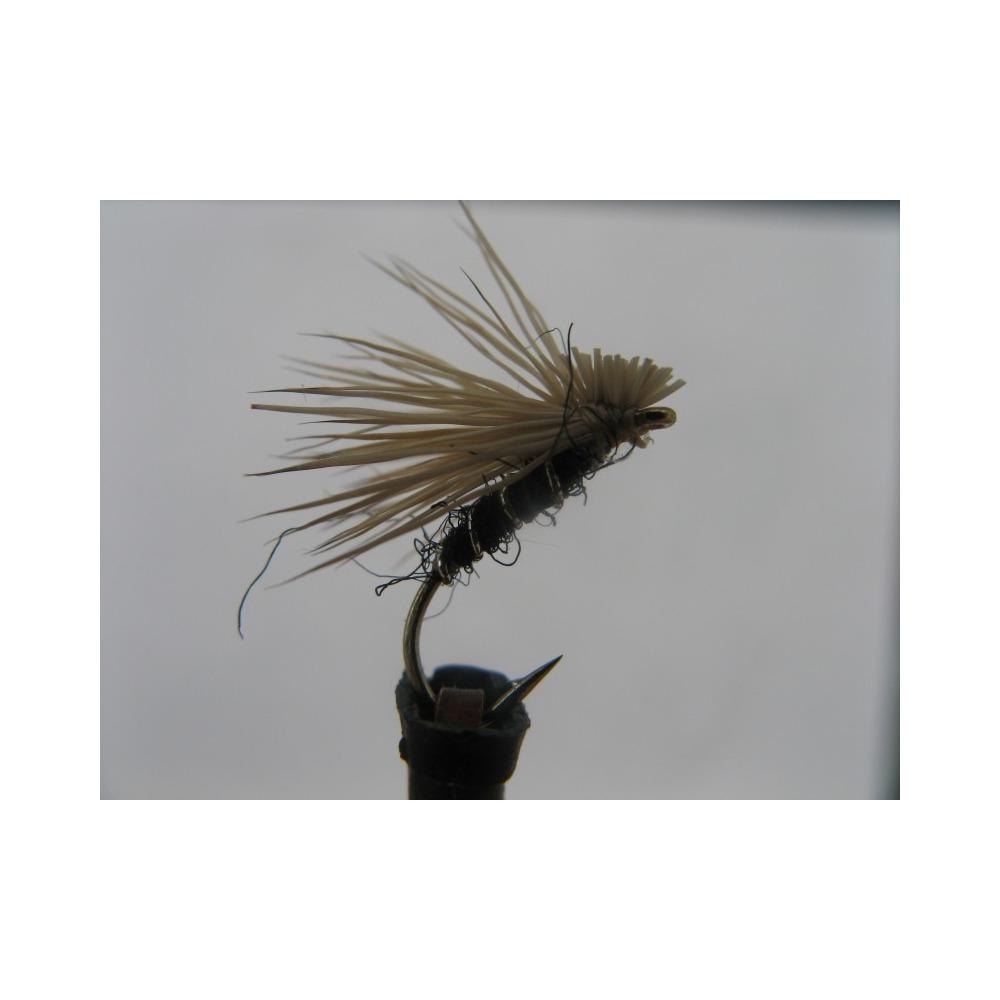 Elk Hair Emerger Black size 14