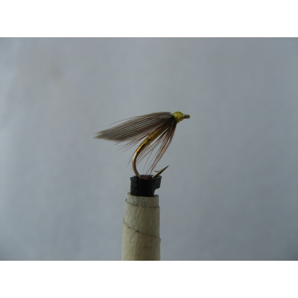 Winged Spider Greenwell Gold Butt Size 14