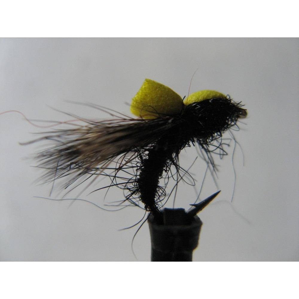 Black Ethafoam Sedge Emerger Size 14