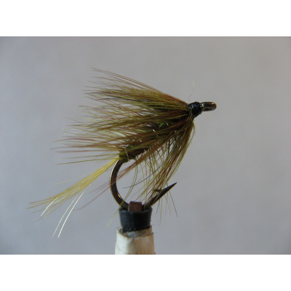 Wet Gartmora Palmered Olive Size 10