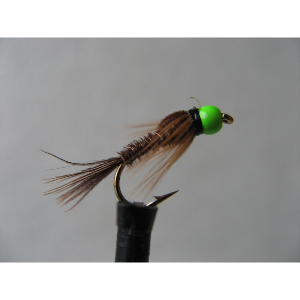 Hothead Green Pheasant Tail  Size 12