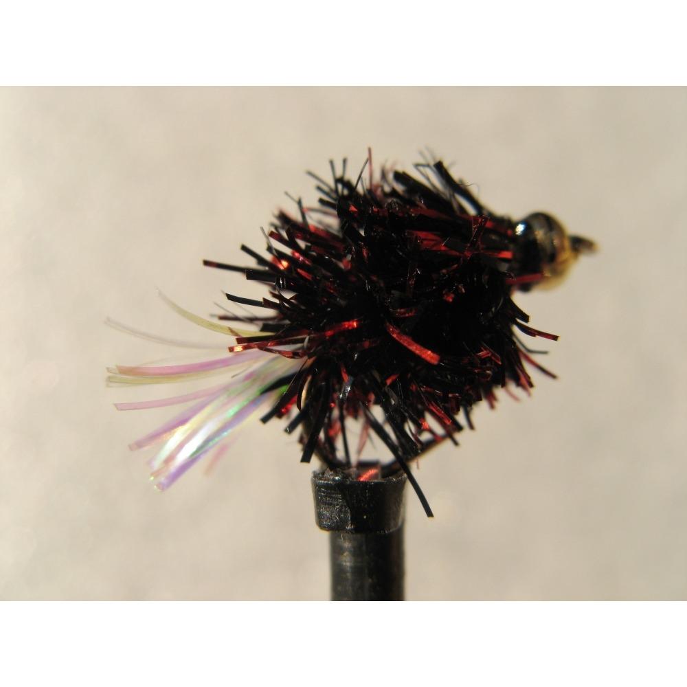 Goldhead Blob Flashtail Dennis Red/Black Size 10