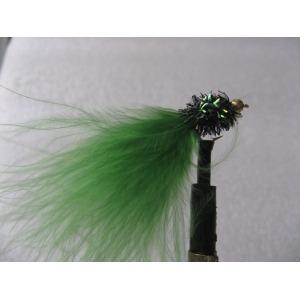 G/Head Fritz Lure Black/Green Size 10