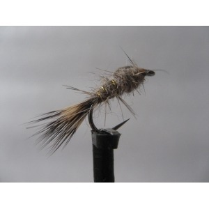 Barbless Nymph Hares Ear Size 12