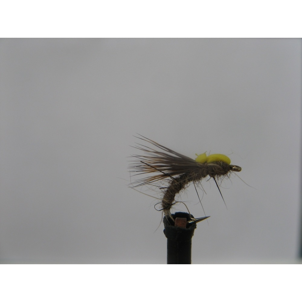 Ethafoam Sedge Emerger Hares Ear size 14