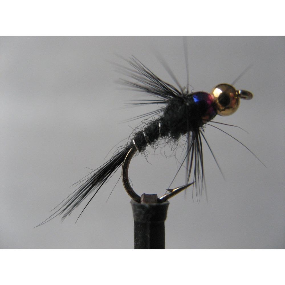 Rainbow Black Nymph Size 10