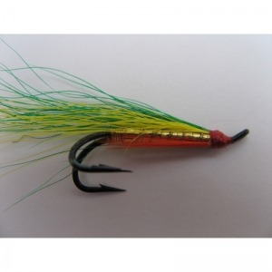 Lime Pinhead Red/Pearly Body Size 16