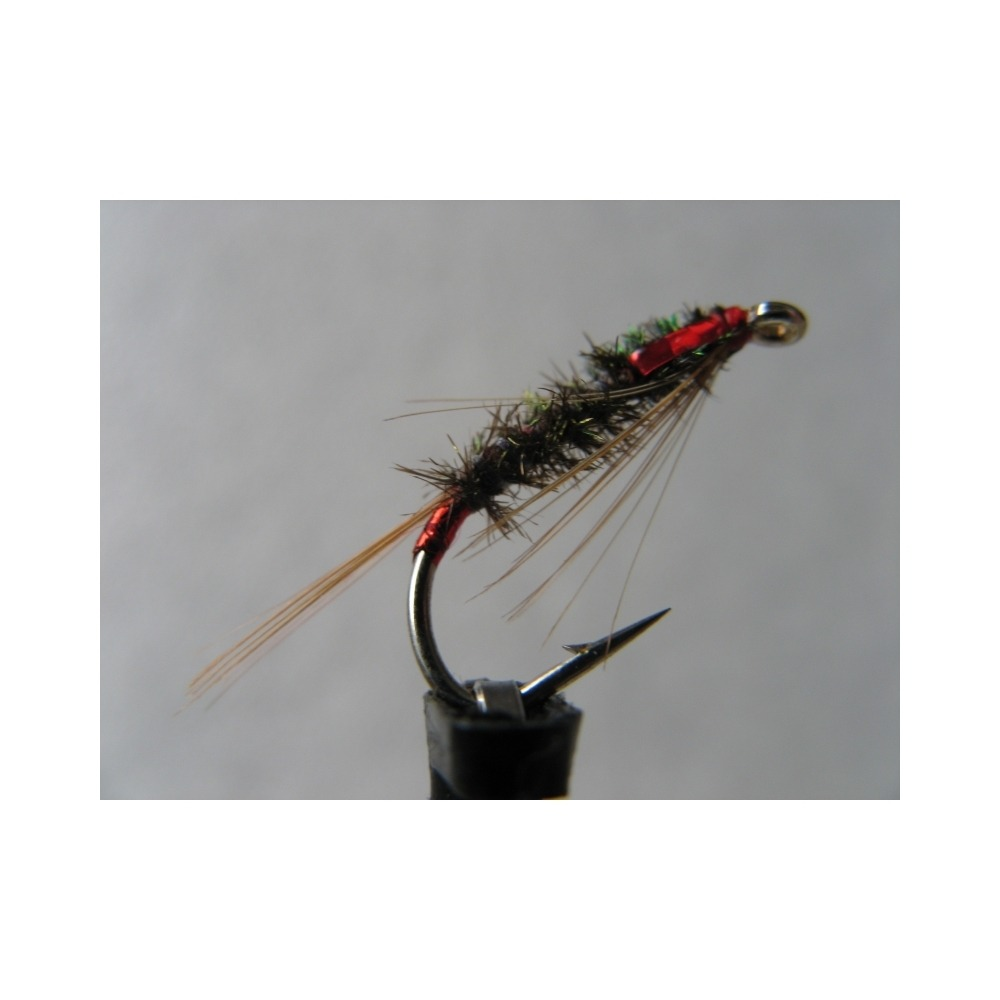 Diawl Bach UV Holo Red Size 10
