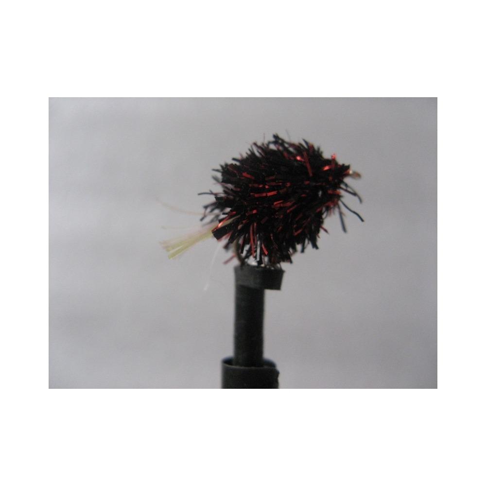 Blob UV Tail Dennis Red/Black Size 10