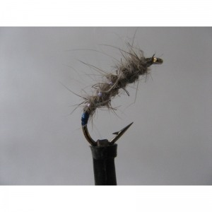 Hares Ear Fire Tail Size 12