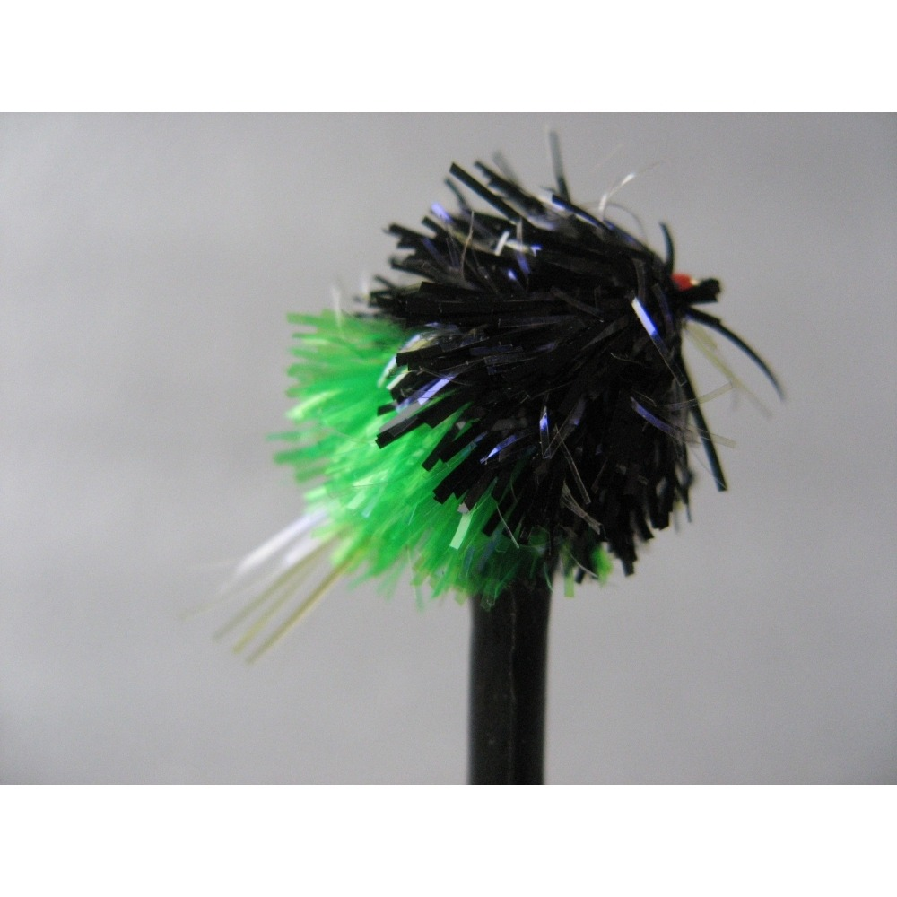 UV Black/Green Blob UV Tail  Size 10