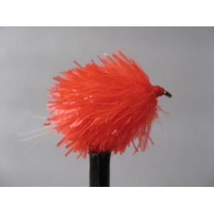 Orange Blob UV Tail  Size 10