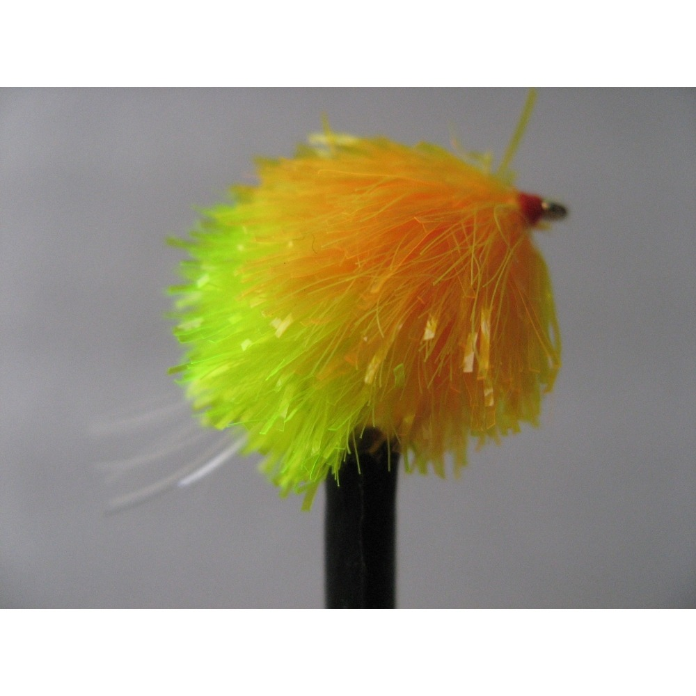 Sunburst/Yellow Blob UV Tail  Size 10