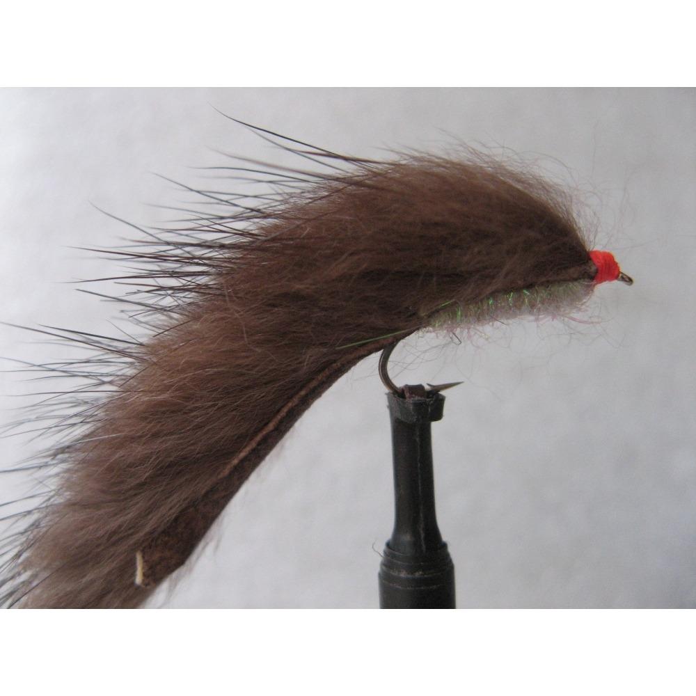 Brown Cut Throat Minkie Size 12 L/S