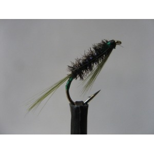Damsel Hot Head Red Grizzle Size 10