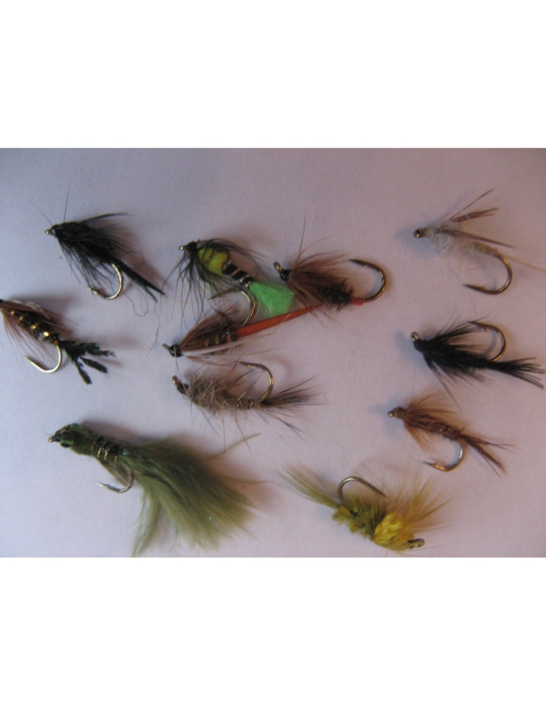 Buzzers Special Red Hot Head Epoxy Top Quality Trout Fly Choice Of Size