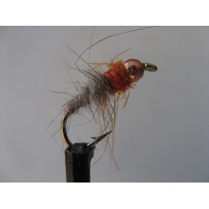 Shrimp Weighted Hares Ear Tailed Size 10