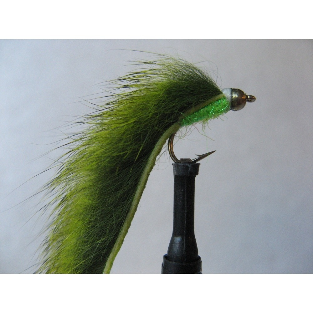 G/H Chartreuse Pine Squirrel Mini Zonker
