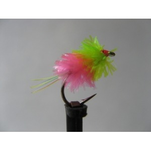 Barbless Black Cruncher Holo Red Size 12