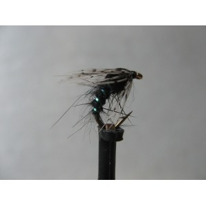 Goldhead Buzzer Olive Quill Holo Gold Cheeks Size 12