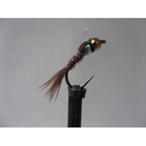 G/H Pearly P/Tail Nymph Barbless Size 12