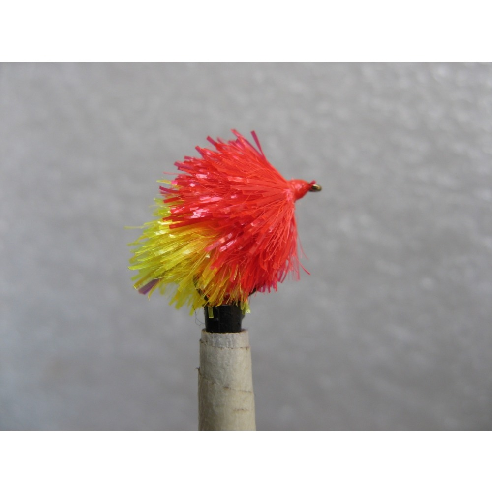 Flashtail Blob Red/Sunburst Size 10