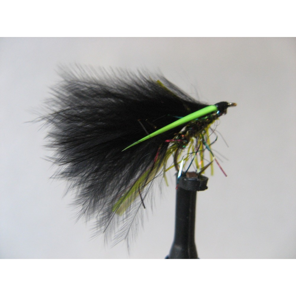 Fly Fishing Flies Trout Set of 3 Olive Cdc Holo Suspender Buzzer Size 14