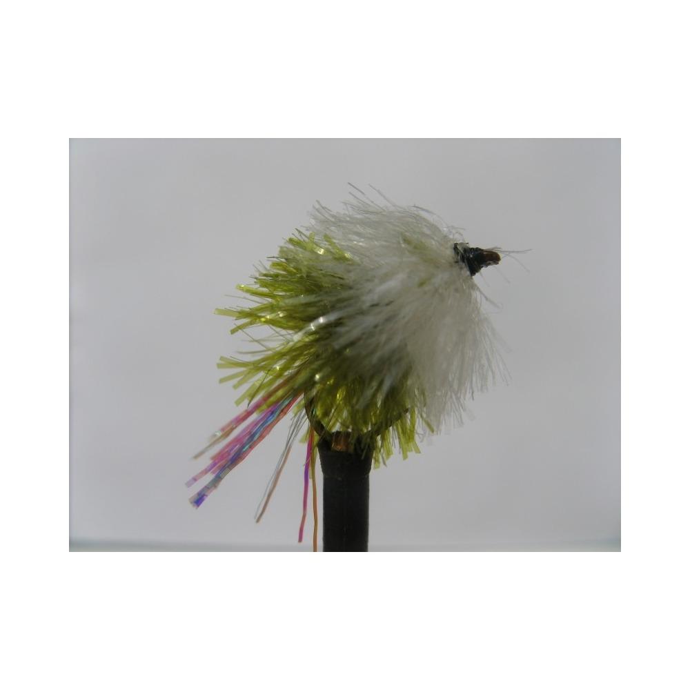 Blob Flashtail White/Olive Size 10